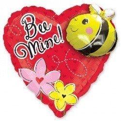 А ФИГУРА Сердце с пчелой