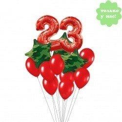 букет из шаров 23