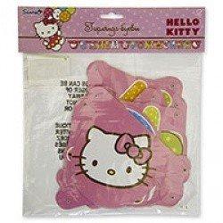 Гирлянда буквы с Днем Рождения  Hello Kitty