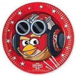 Тарелки Angry Birds STAR WARS 8 штук