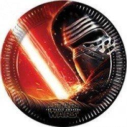 Тарелки большие Звёздные Войны 7 8 штук