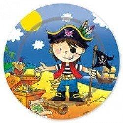 Тарелки большие Маленький пират, 23 см
