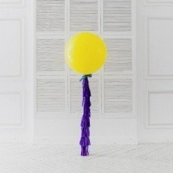 Огромный шар Фиолетовый лимон