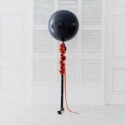 Огромный шар Черный мак