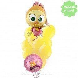 Букет из шаров С днем рождения, Цыпа