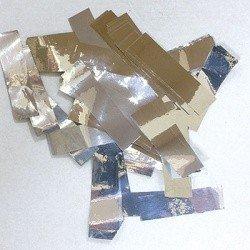 Конфетти негорящее серебро 500 гр