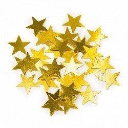 Конфетти звезды золото 17гр
