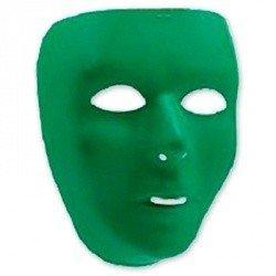 Маска пластиковая зеленая
