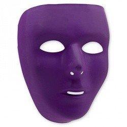 Маска пластиковая фиолетовая
