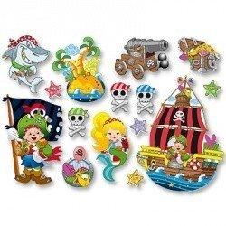 Баннер-комплект Пираты 15шт