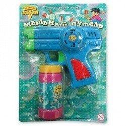 Игрушка с мыл пузырями Пистолет музыкал.