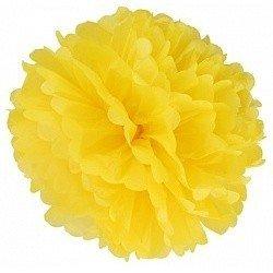 Помпон Желтый 30 см