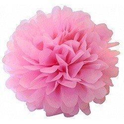 Помпон Розовый 20 см