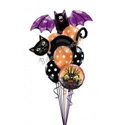 Букет из шаров Летучая мышь