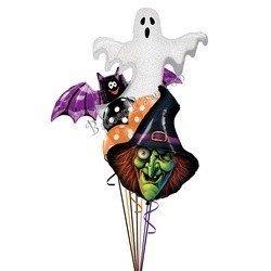 Букет из шаров Ведьма