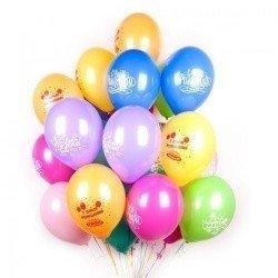 Облако шаров на день рождения 100 шт
