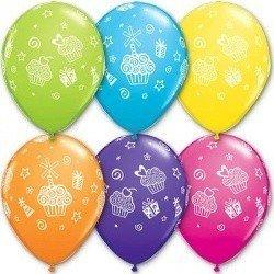 Облако шаров Кексы и Подарки 100 шт