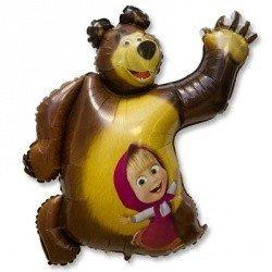 Шар фигура Маша и Медведь
