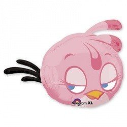 Шар-фигура Angry Birds Розовая Птица