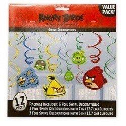 Спираль Angry Birds 46-60см, 12 штук