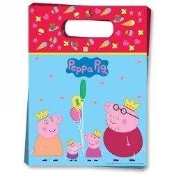 Пакеты для сувениров Пеппа, 6 штук