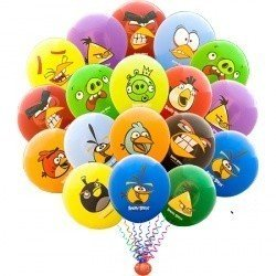 Облако из шаров Angry Birds 100 шт