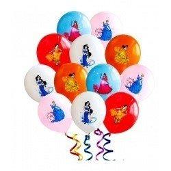 Облако из шаров Принцессы 100 шт