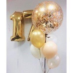 Букет из шаров 17 лет