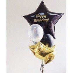 Букет из шаров HAPPY BIRHTDAY