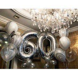 Готовое решение на 60 лет Серебро