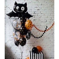 Букет из шаров Happy Halloween