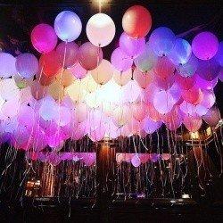 Светящиеся шарики Волшебная Страна 100 шт