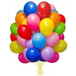 Облако шариков Ассорти большие 100 шт