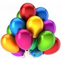 Облако шариков Ассорти металлик стандартные 100 шт