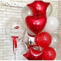 Букет из шаров Сладкий поцелуй