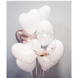 Букет из шаров Мечта влюбленных