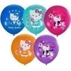 Облако шаров Hello Kitty 100 шт