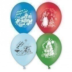 Облако шаров Disney С Новым Годом 100 шт