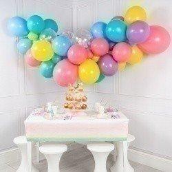 Гирлянда из шаров «Разноцветный единорог»