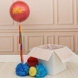 Коробка с шарами «Супергерой»