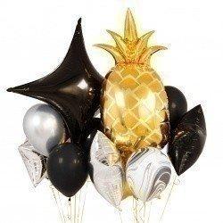 Букет из шаров «Черный ананас»